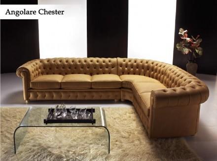 Divano chester angolare | Pelli & sofà 349 3828451